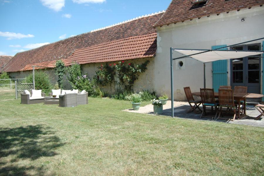 The gîte garden.